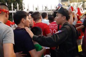Thắt chặt an ninh, đảm bảo an toàn cho trận đấu Việt Nam- Malaysia