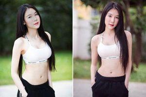 CLIP: Vẻ ngoài tựa nữ thần của người mẫu đồ lót Thái Lan
