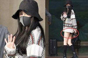 'Nữ hoàng sân bay' Dương Mịch chiếm trọn spotlight với 'đôi chân manga' siêu đỉnh nhưng bất ngờ gặp cố hớ hênh