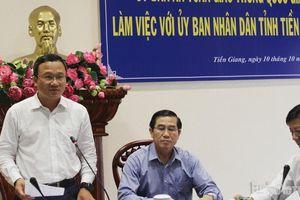 Giao thông các tuyến quốc lộ qua Tiền Giang còn nhiều bất cập