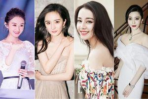 Xếp hạng doanh thu phòng vé của các nữ diễn viên Cbiz: Dương Mịch cao ngất ngưởng, Triệu Lệ Dĩnh và Địch Lệ Nhiệt Ba thấp không tưởng
