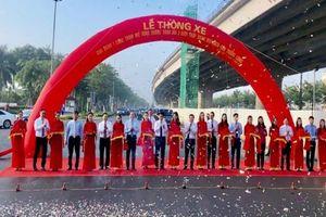 Hà Nội: Thông xe đường vành đai 3 đoạn Mai Dịch - Cầu Thăng Long