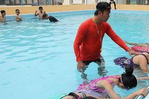 Quảng Ngãi: Khánh thành 3 bể bơi phòng chống đuối nước cho trẻ em huyện Bình Sơn