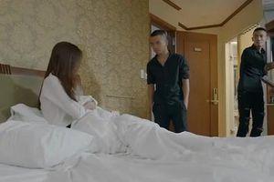 'Hoa hồng trên ngực trái' tập 20: Trà bị xử khi đang ở với nhân tình