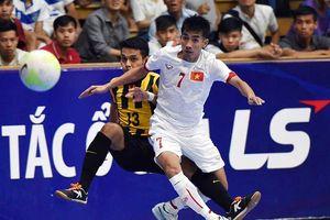 Đội tuyển Futsal Việt Nam ở bảng tử thần