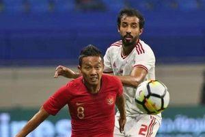 Indonesia đổ lỗi cho giải quốc nội sau thất bại trước UAE