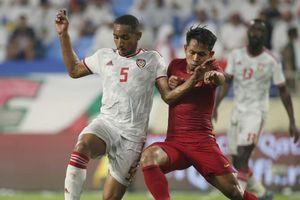 Vòng loại World Cup 2022: Thắng đậm Indonesia, UAE đứng đầu bảng G