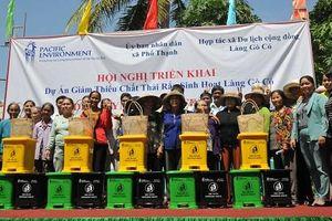 Quảng Ngãi: Người dân Gò Cỏ tự phân loại rác thải