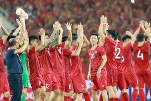 Khoảnh khắc thăng hoa của tuyển Việt Nam