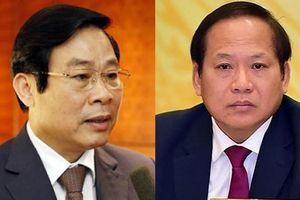 Nguyên Bộ trưởng Nguyễn Bắc Son và ông Trương Minh Tuấn bị khai trừ Đảng