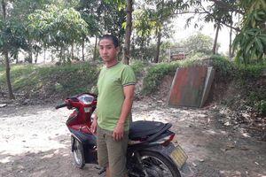 Bắt đối tượng đem xe không rõ nguồn gốc sang Campuchia bán