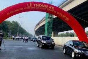 Hà Nội thông xe đường vành đai 3 đoạn Mai Dịch – Nam Thăng Long