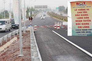 Hội đồng Nghiệm thu Nhà nước nói gì về cao tốc thông xe xong 'cấm' phương tiện?