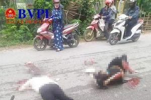 Chồng bị ô tô cán tử vong, vợ nguy kịch sau khi đâm phải... chó