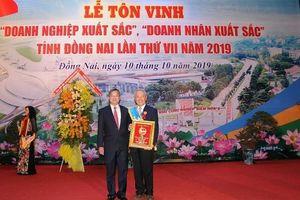 Vedan Việt Nam được vinh danh 'Doanh nghiệp xuất sắc' tỉnh Đồng Nai năm 2019.