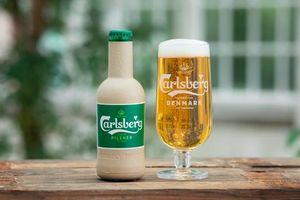 Bia Carlsberg sắp đựng bia bằng chai giấy