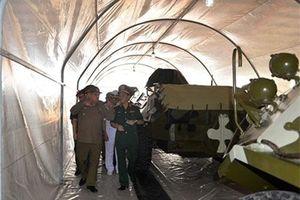 Cuba hỗ trợ Việt Nam công nghệ bảo quản xe thiết giáp