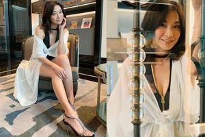Mỹ nhân sắm vai phụ trong 'Lương Sơn Bá Chúc Anh Đài' gây sốt với body 'bốc lửa' U45, lấn lướt cả nữ chính trong phim