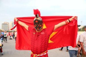 Cầu thủ Hà Nội ghi bàn trong Ngày giải phóng Thủ đô
