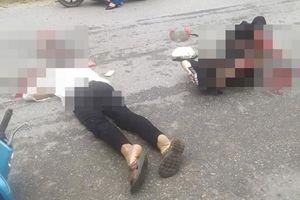 Tông vào chó chạy qua đường, chồng tử vong tại chỗ, vợ nguy kịch