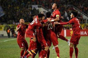 Tuyển Việt Nam tăng bậc trên BXH FIFA sau chiến thắng trước Malaysia