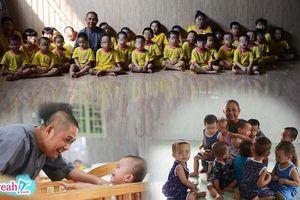 Người đàn ông độc thân suốt 11 năm đi nhặt hàng trăm đứa trẻ bị bỏ rơi về nuôi dưỡng