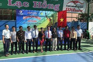 Trên 200 vận động viên tham dự giải quần vợt cúp Mê Trang