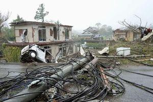 Siêu bão Hagibis bắt đầu tàn phá Nhật Bản