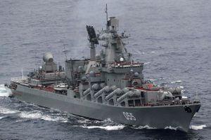 Tuần dương hạm tên lửa của Nga tiến vào Địa Trung Hải