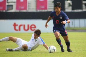 U19 Thái Lan về bét ở giải đấu trên sân nhà khi thua Uzbekistan
