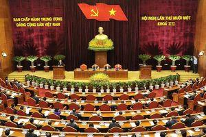 Bế mạc Hội nghị lần thứ 11 Ban Chấp hành Trung ương Đảng khóa XII