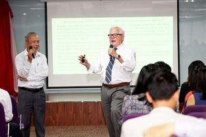 GS.TS James Riedel hỗ trợ Trường Đại học Hoa Sen nâng cao chất lượng học thuật