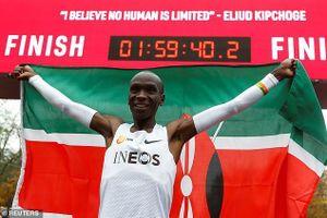 Chạy marathon dưới 2 giờ, Eliud Kipchoge lập kỳ tích trong lịch sử điền kinh