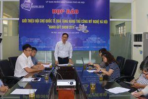 Gần 600 nhà nhập khẩu tham gia Hội chợ Hà Nội Giftshow 2019
