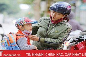 Từ chiều tối 13/10, gió mùa Đông Bắc bắt đầu ảnh hưởng tới Hà Tĩnh