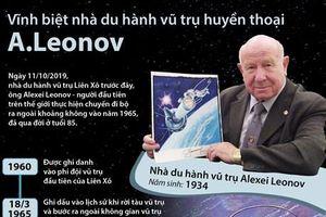 Vĩnh biệt nhà du hành vũ trụ huyền thoại Leonov