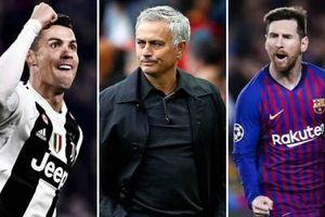 HLV Mourinho: 'CR7 và Messi chỉ đứng thứ 2 lịch sử mà thôi'