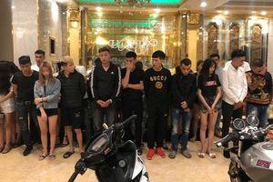 Bắt quả tang 34 thanh niên tổ chức tiệc sinh nhật bằng ma túy tại quán karaoke ở Lai Châu