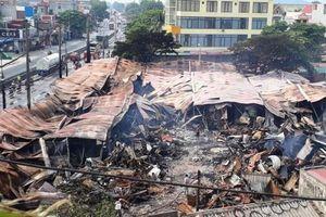 Cháy chợ tạm Còng tại Thanh Hóa: Tiểu thương trắng tay, chủ đầu tư 'thiệt đơn, thiệt kép'