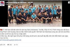 Thông tin mới nhất của ĐT Việt Nam ở Indonesia
