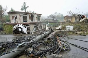 Siêu bão chưa đổ bộ, Nhật Bản rung chuyển vì động đất