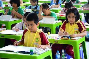 Gần 300 thiếu nhi, học sinh tham gia Hội thi vẽ tranh 'Nhành cọ non' 2019
