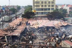 Thanh Hóa: Cháy chợ Còng là do có kẻ phóng hỏa?