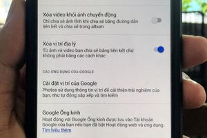 Cách loại bỏ dữ liệu vị trí khi chia sẻ ảnh trên Google Photos