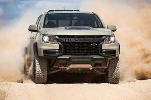 Chevrolet Colorado 2021 đẹp 'long lanh' vừa ra mắt được ứng dụng gì?
