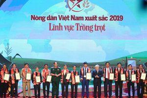 Tôn vinh 63 'Nông dân Việt Nam xuất sắc' năm 2019