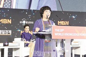Nữ doanh nhân với khát vọng mang Việt Nam ra thế giới