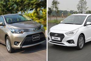 Hyundai Accent, Kia Soluto giá rẻ, bám đuổi Toyota Vios ở phân khúc hạng B