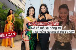 Kiều Loan nhắn tin về Việt Nam xin phép tự xẻ váy thêm gợi cảm: Quyết thắng Miss Grand Int'