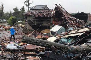 Siêu bão Hagibis đã suy yếu sau khi đổ bộ vào Nhật Bản